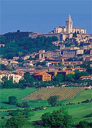 Self-guided walking holiday in Umbria