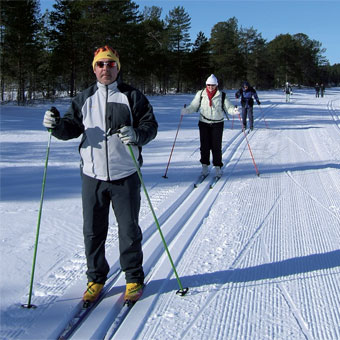 Cross country skiing holidays