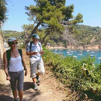Self-guided walking holidays
