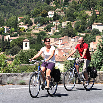 Gentle cycling holidays