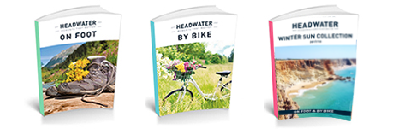 Walking, cycling and villa brochures from Headwater