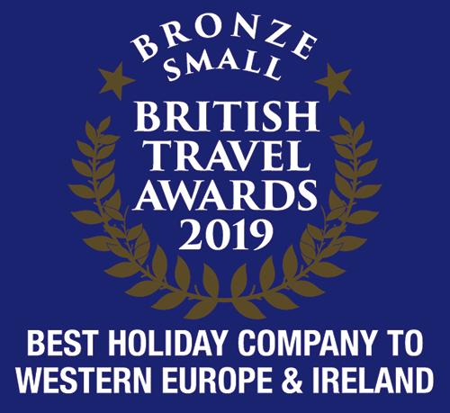 British Travel Awards 2019: Best Holiday Company to Western Europe and Ireland