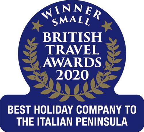 British Travel Awards 2020: Best Holiday Company to the Italian Peninsula